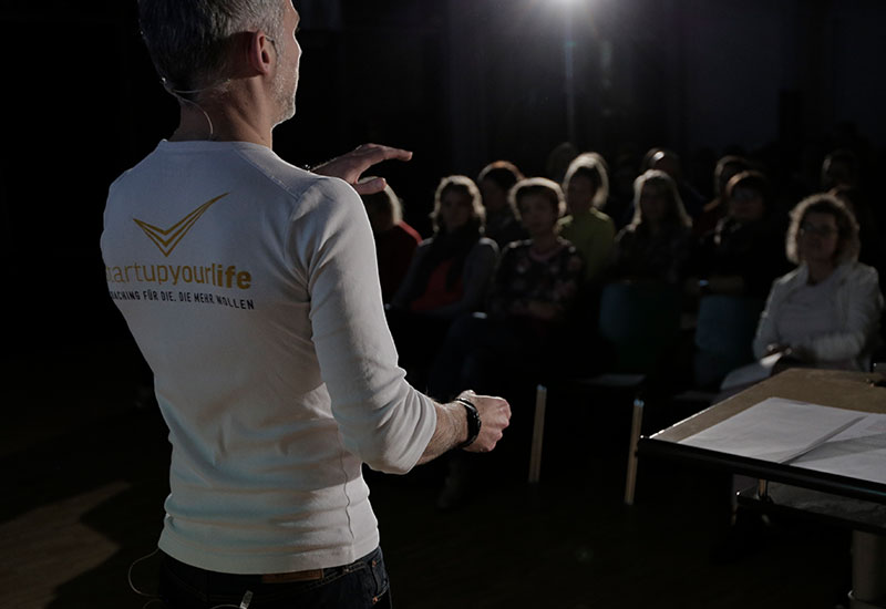 Keynotes & Vorträge –startupyourlife